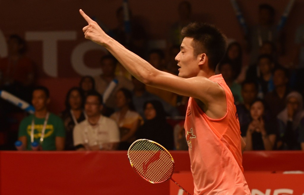 China's Chen Long is one win away from successfully defending his men's singles world title ©Getty Images