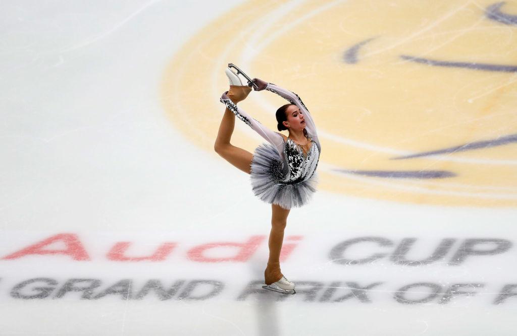Russia's Alina Zagitova produced a superb display to win the women's event ©ISU