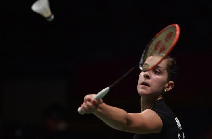 Spain's Carolina Marin beat South Korea's Sung Ji Hyun to set up a final against India's Saina Nehwal