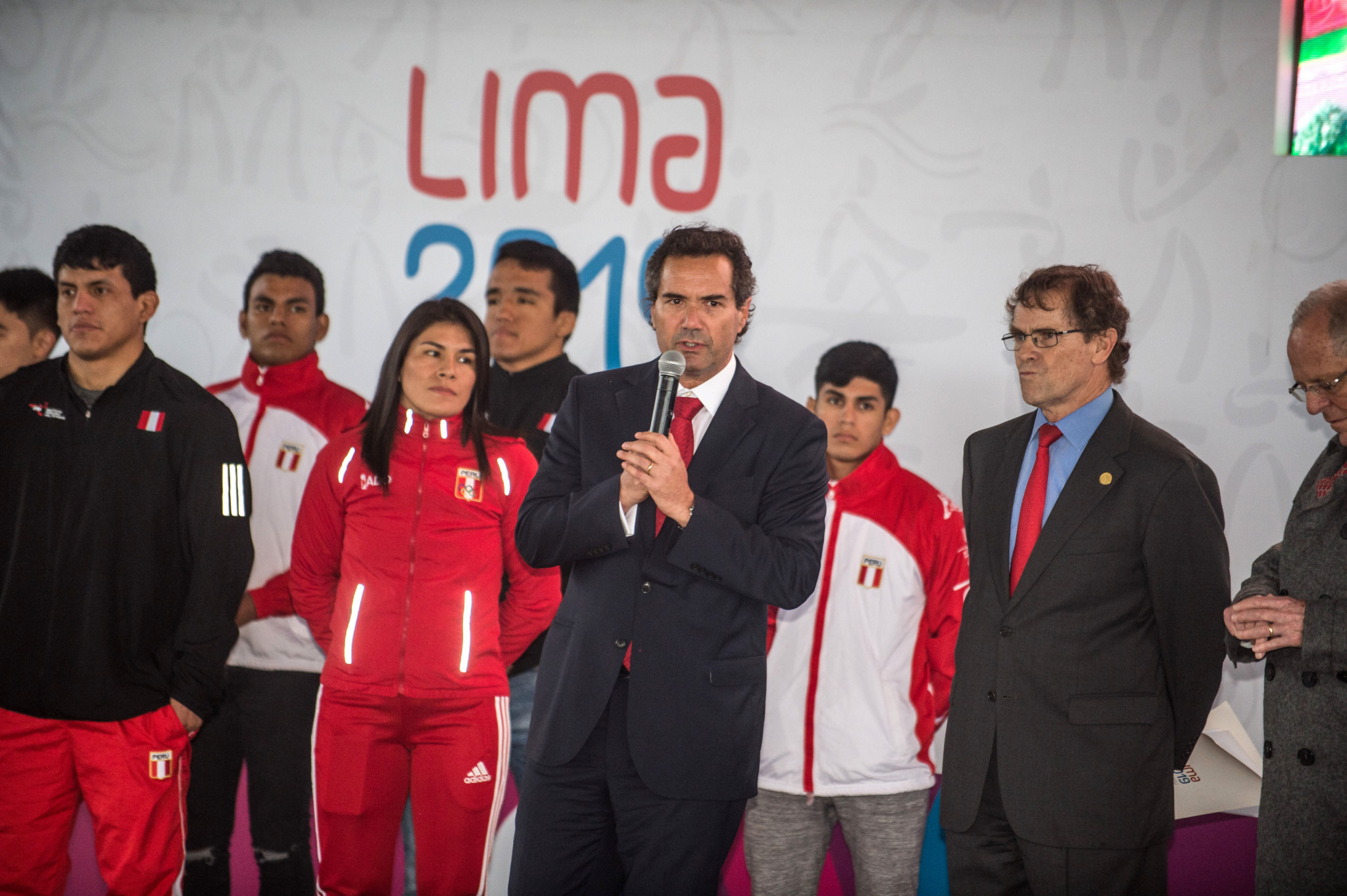 PanAmSports President Neven Ilic negotiated the compromise arrangement with Peruvian officials ©Getty Images