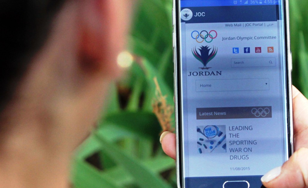 Jordan Olympic Committee launches new mobile app to celebrate International Youth Day