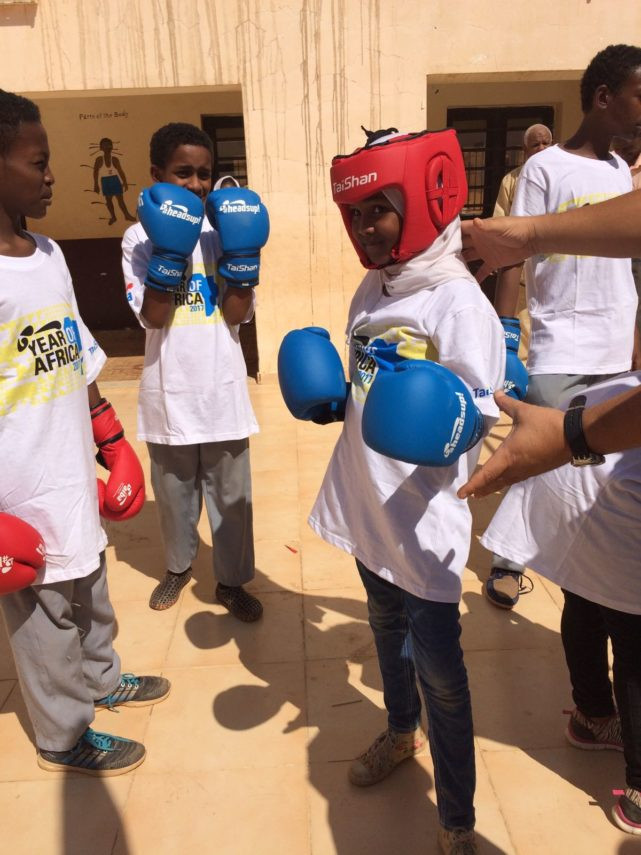 AIBA's Year of Africa project reaches Sudan