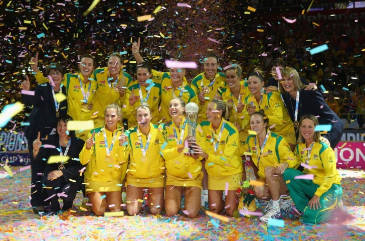 Australia claimed their 11th Netball World Cup title with a narrow victory over New Zealand ©Getty Images