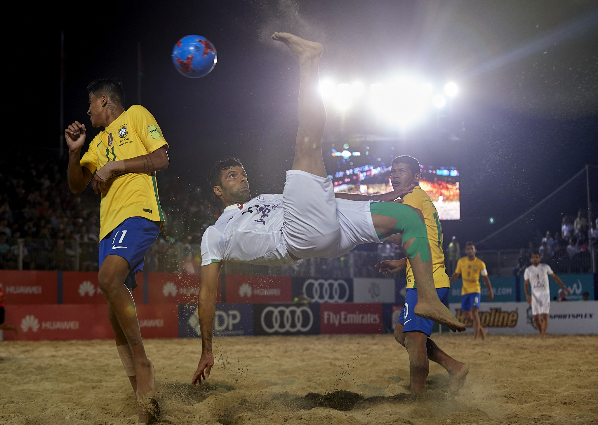 Beach soccer is one of the events ideally suited to the programme ©Getty Images