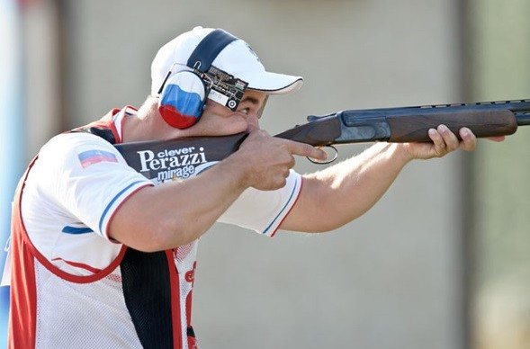 Russian Alipov finishes regular ISSF World Cup season in style with men's trap gold in Gabala