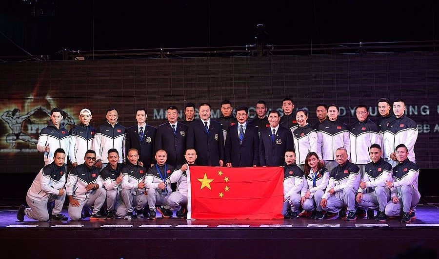 China were one of 13 nations to claim at least one gold medal at the Championships ©Igor Kopcek/East Labs Team/IFBB