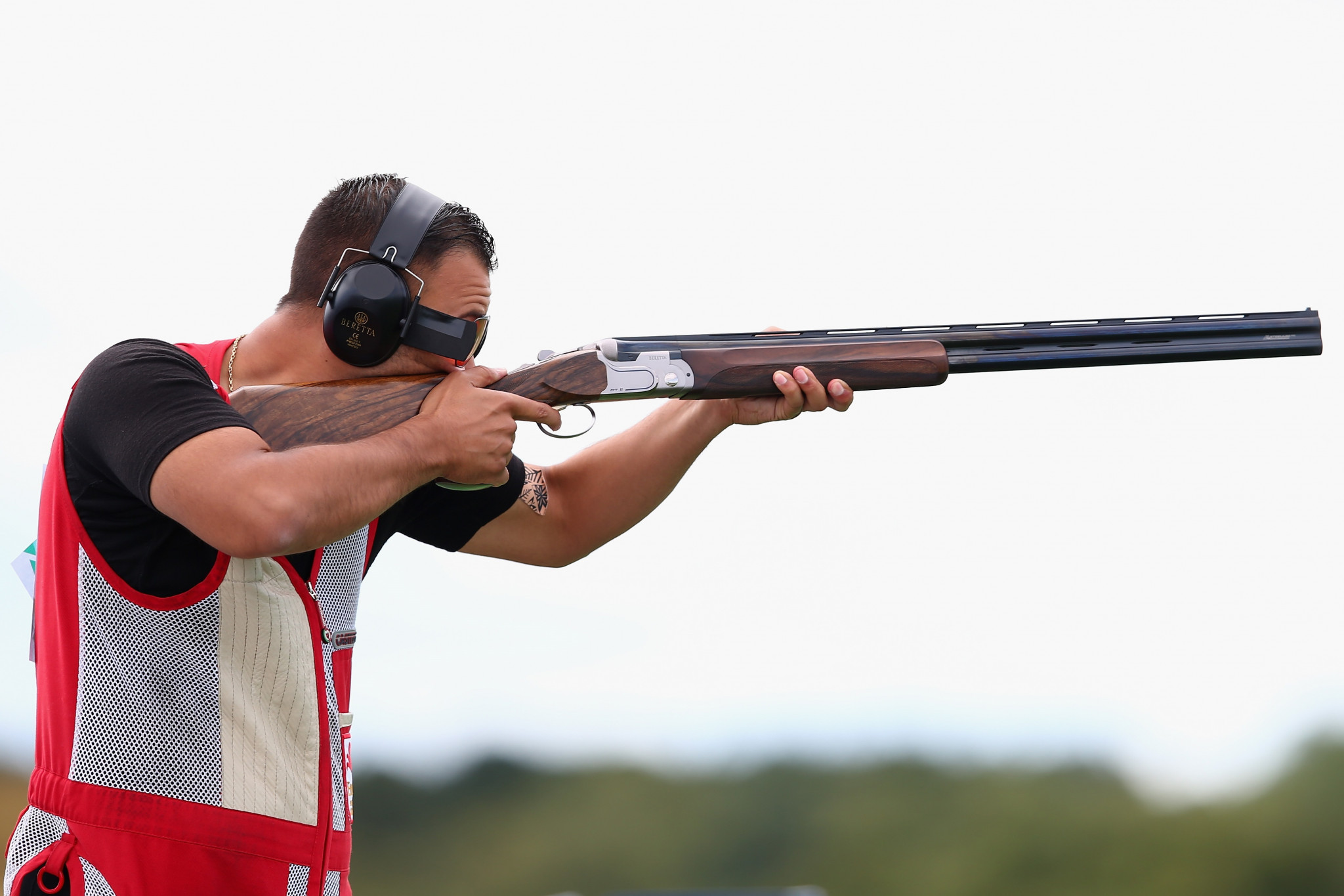 England's Aaron Heading claimed the Commonwealth men's trap title on the penultimate day of action at the Oceania and Commonwealth Shooting Federations' Championships in Brisbane ©Getty Images