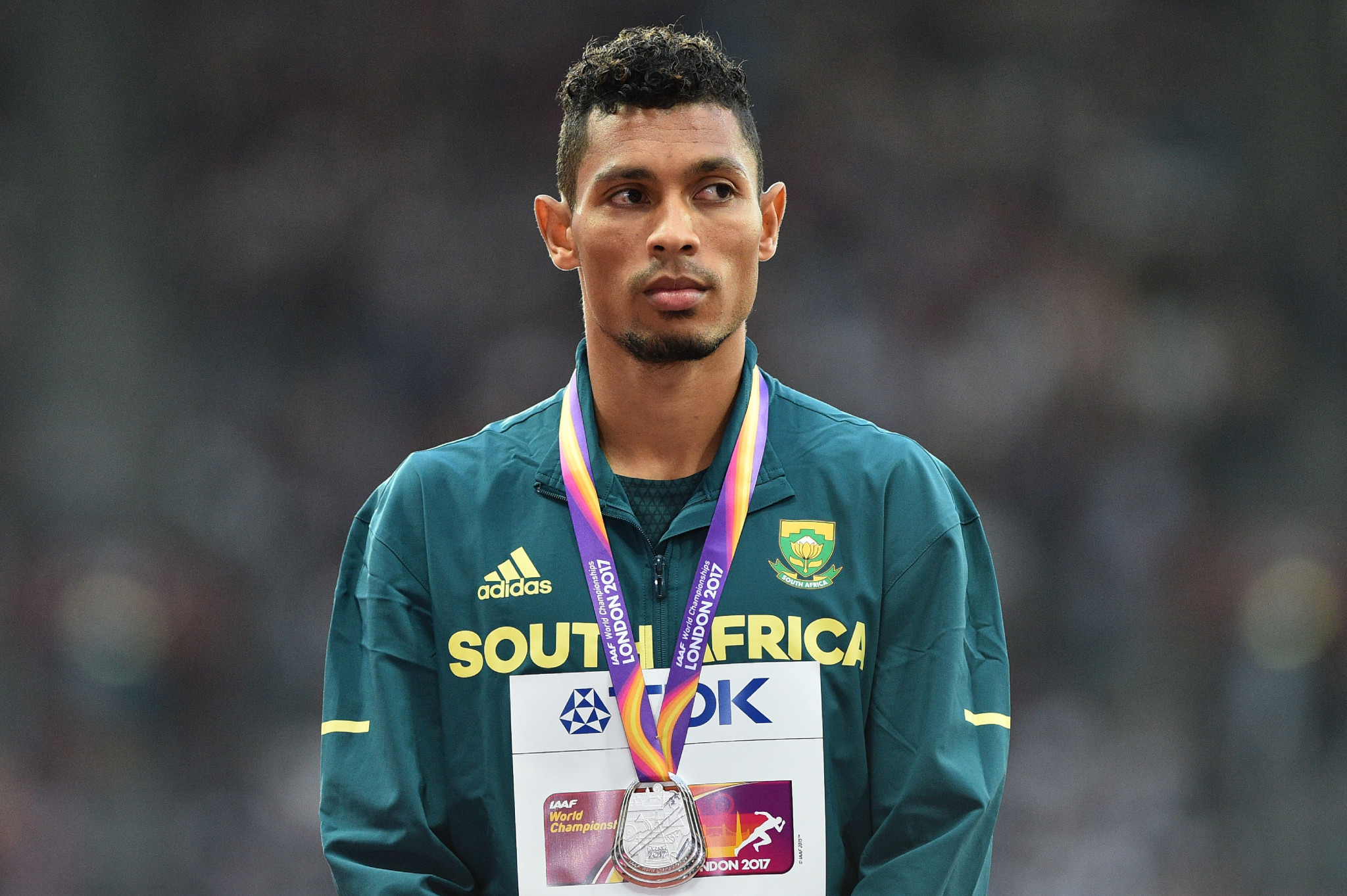 South Africa's Wayde van Niekerk, renowned for his speed in sprinting, is also on the line-up for the Male Athlete of the Year award ©Getty Images