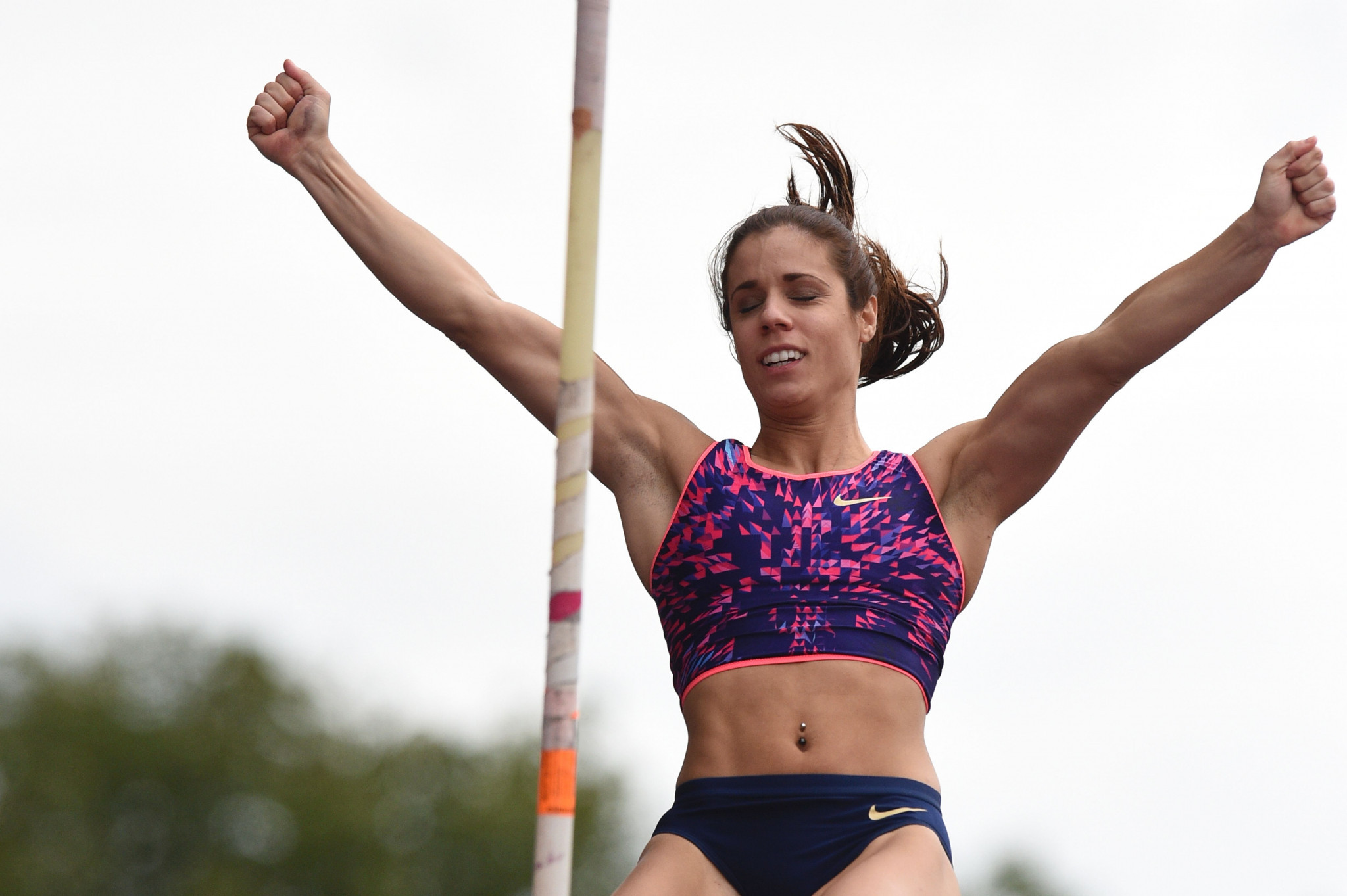 Greece's Ekaterini Stefanidi, who was voted European Athlete of the Year last month, will be hoping to receive the world title in Monaco  ©Getty Images