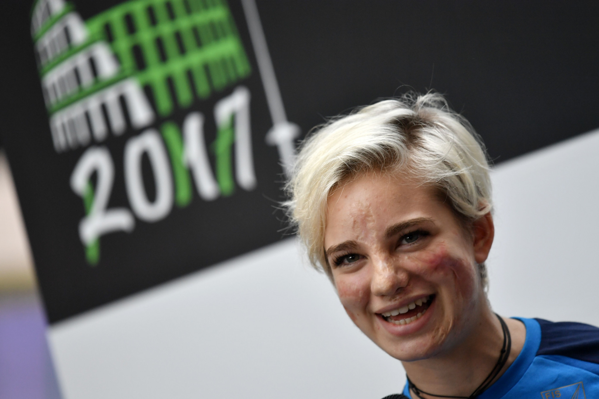Beatrice Vio will be hoping to win the world title on home turf ©Getty Images