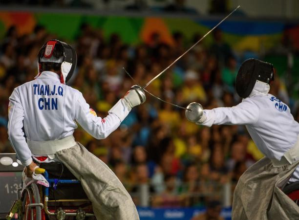 The world's best wheelchair fencers are competing across 22 medal events ©Rio 2016