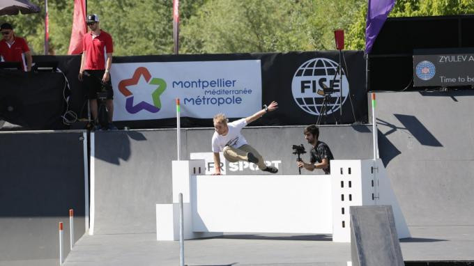 The International Gymnastics Federation are now organising parkour World Cup events ©FIG