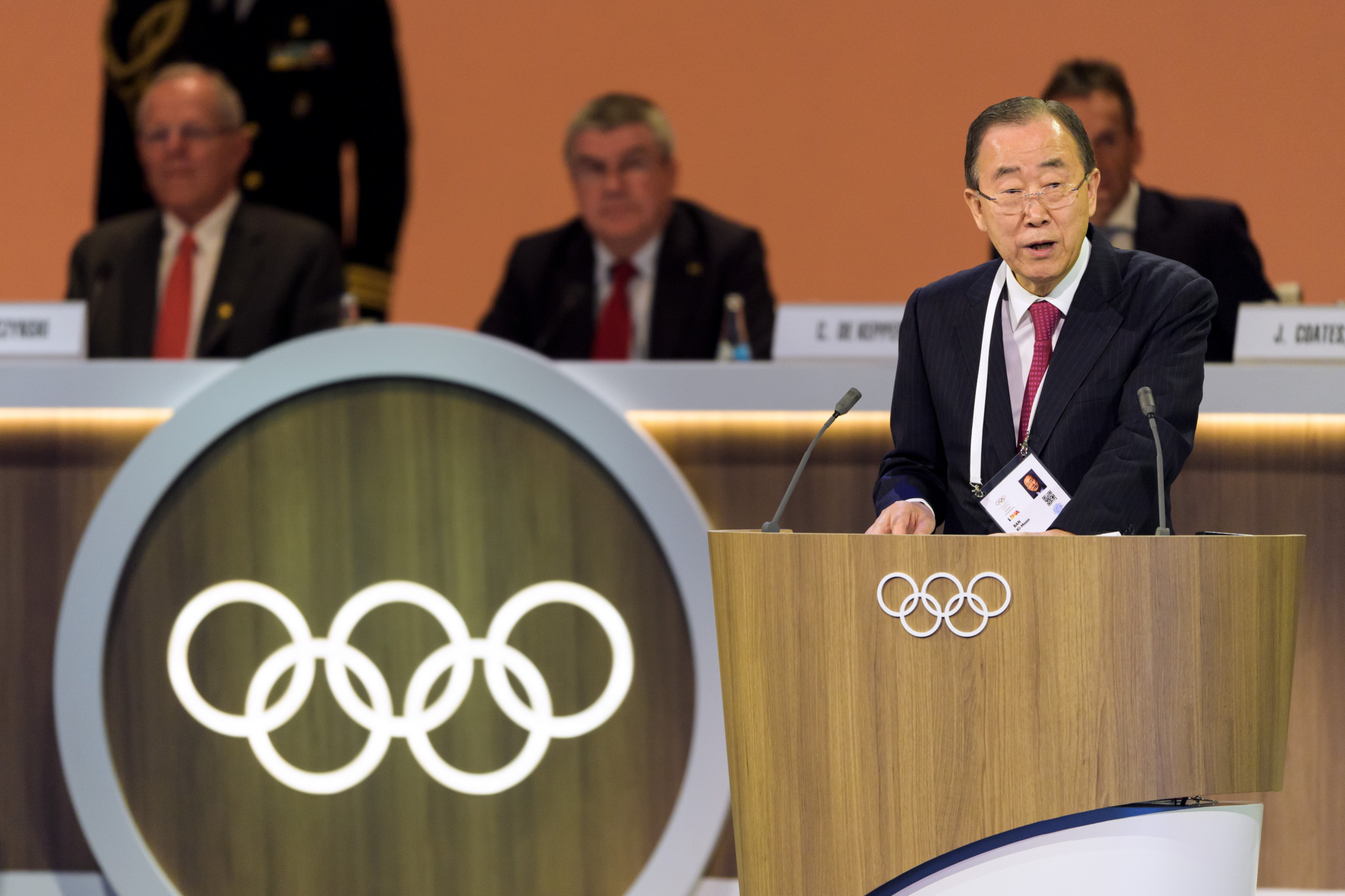 Ban Ki-moon defends IOC Ethics Commission after chairing first meeting