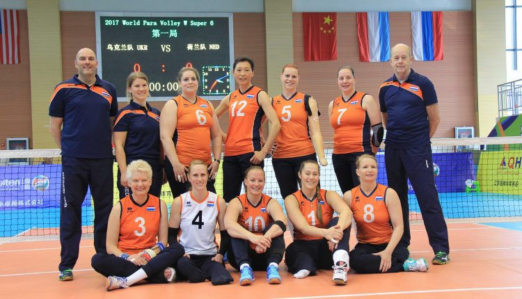 A topsy-turvy opening day for The Netherlands in the women's section ©eurosittingvolley.com