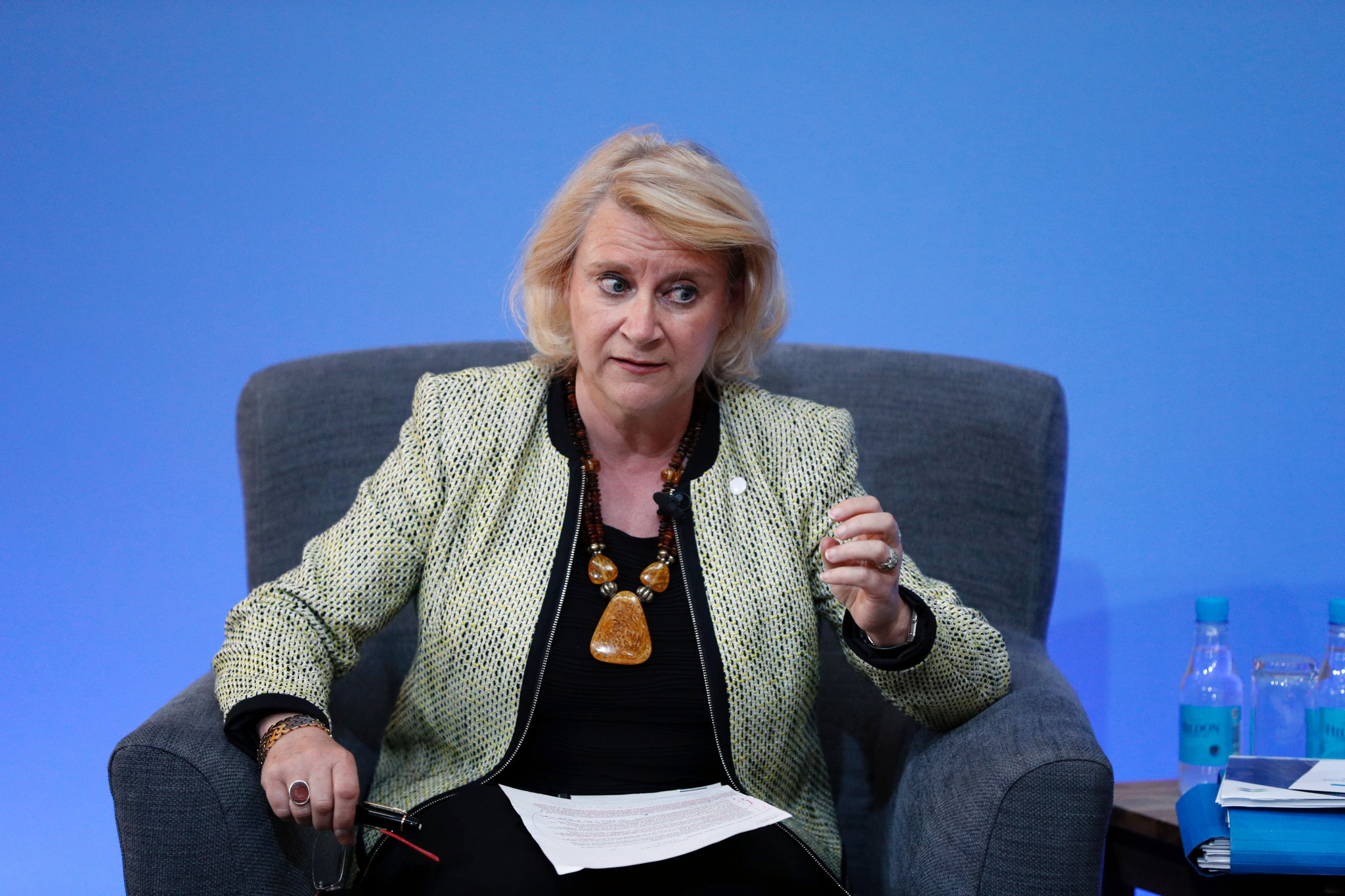 IOC chief ethics and compliance officer Päquerette Girard Zappelli has defended the organisation's ethics proceedings following recent criticism about its independence ©Getty Images