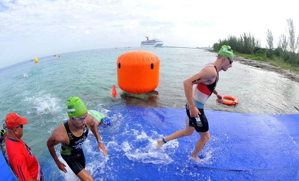 Aquathlon to replace duathlon race at first ANOC World Beach Games