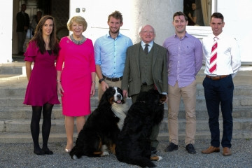 Rowing O'Donovan brothers honoured by Irish President