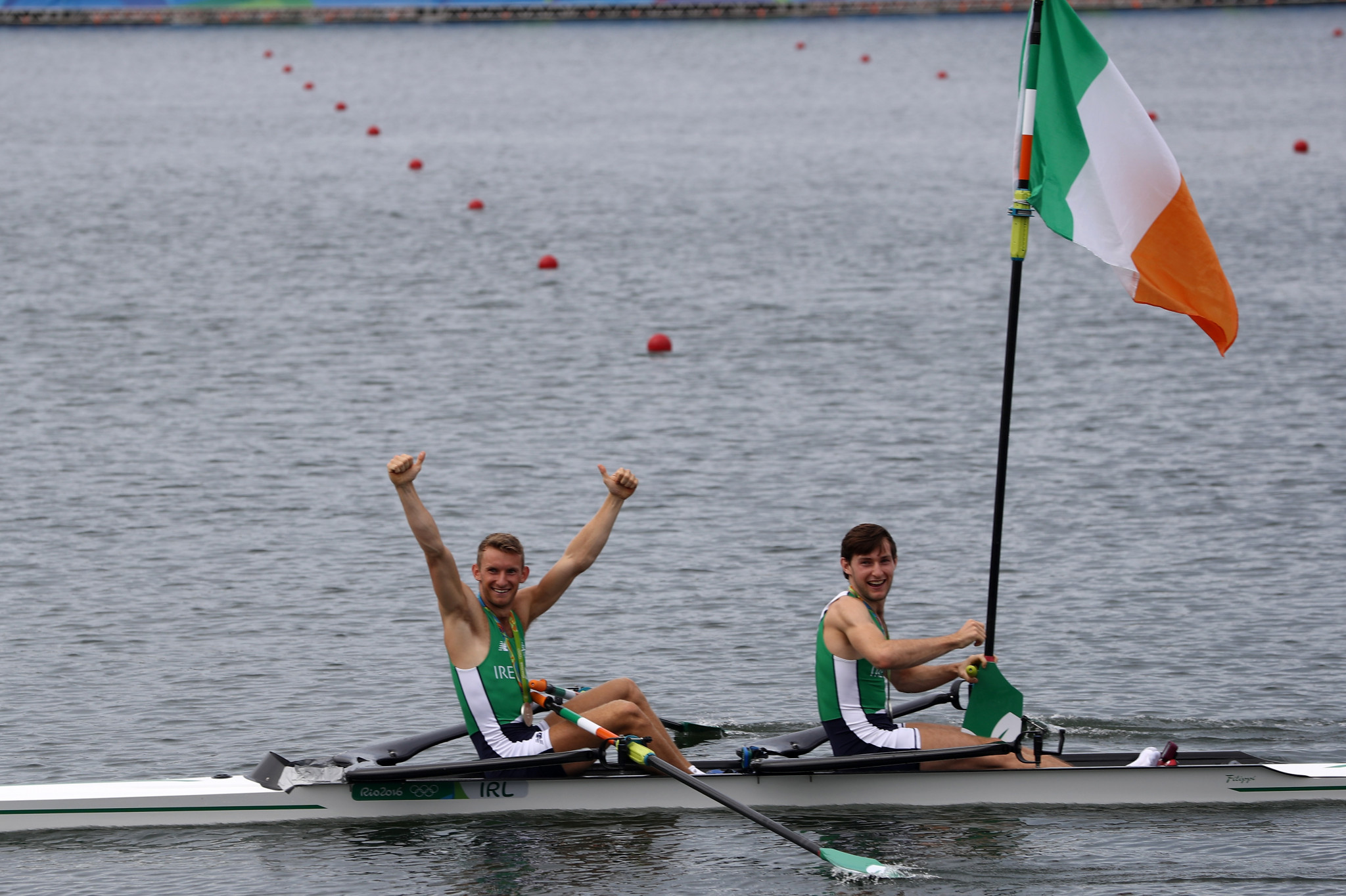 Gary and Paul O'Donovan won one of Ireland's two Olympic medals at Rio 2016 ©Getty Images