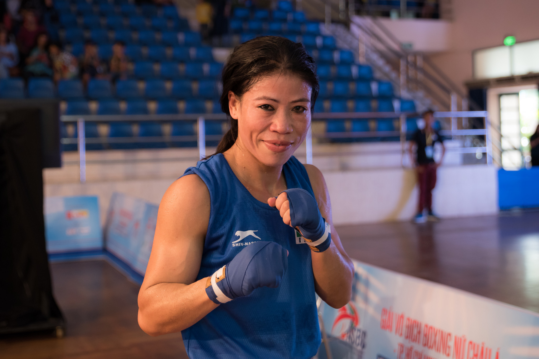 India's Kom through to final of Asian Women's Boxing Championships