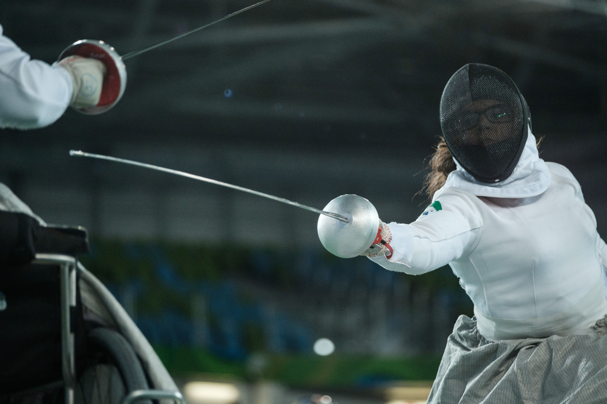 Osváth and Krajnyak give Hungary golden start at IWAS Wheelchair Fencing World Championships