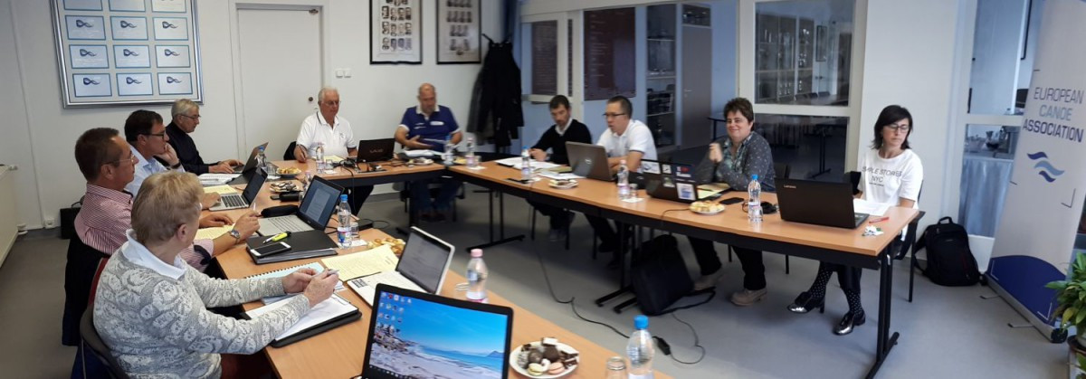 The European Canoe Association (ECA) met in Hungary and agreed on a number of issues, including the reclassification of the Moscow sprint ©ECA