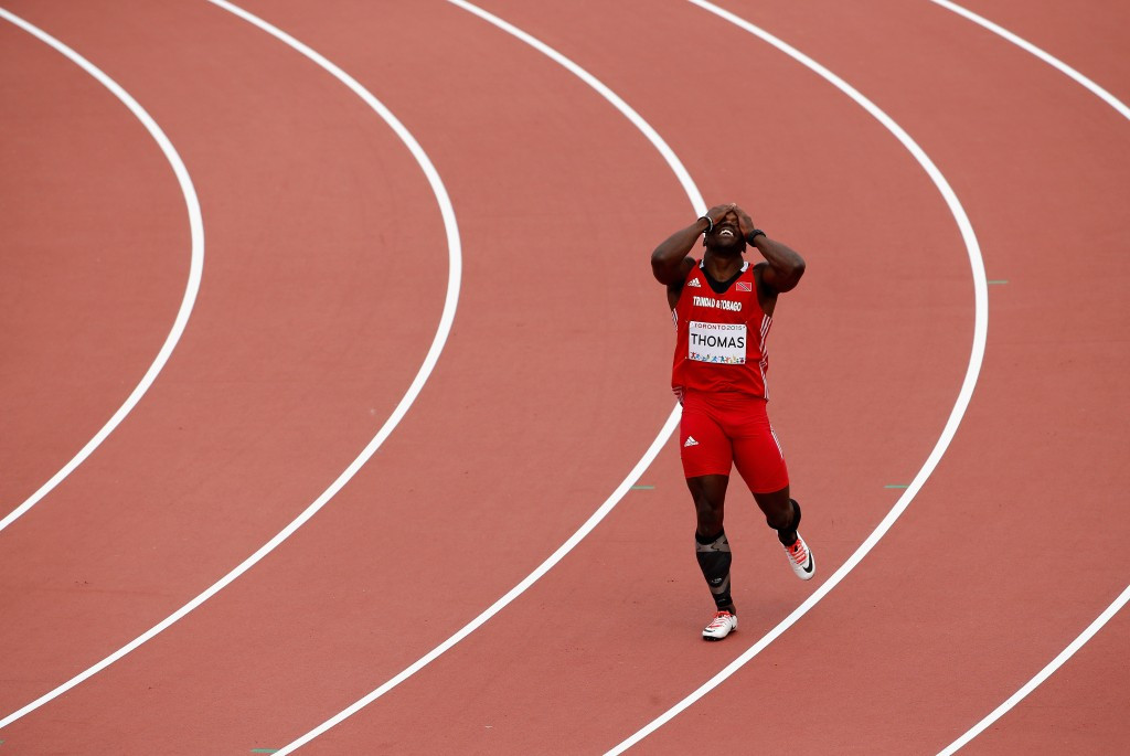 Mikel Thomas won one of three silver medals achieved by Trinidad and Tobago at the recent Pan American Games in Toronto
