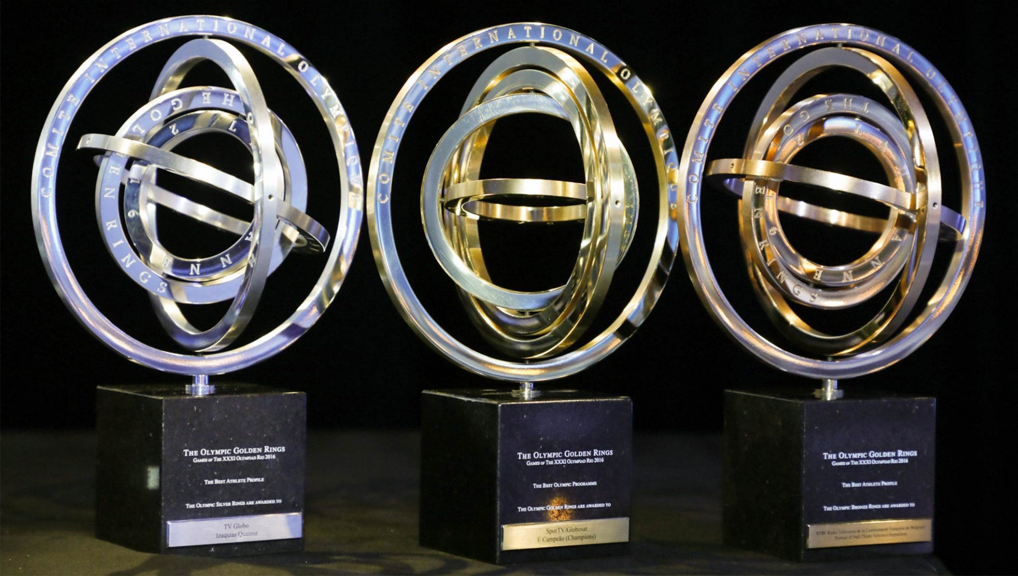 IOC Golden Rings awards have been handed out in Lausanne ©IOC
