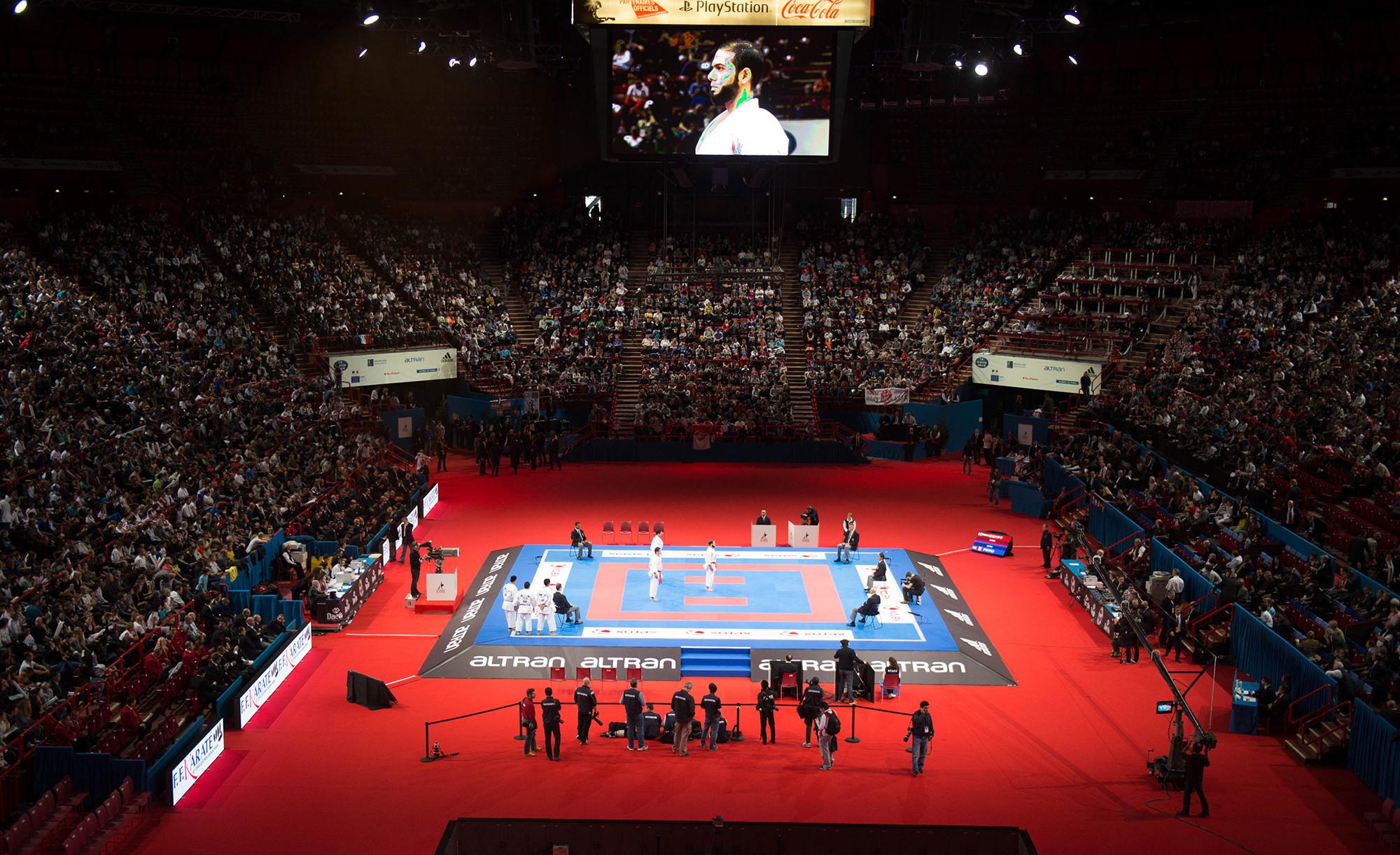 Madrid will host the 2018 World Karate Championships ©WKF