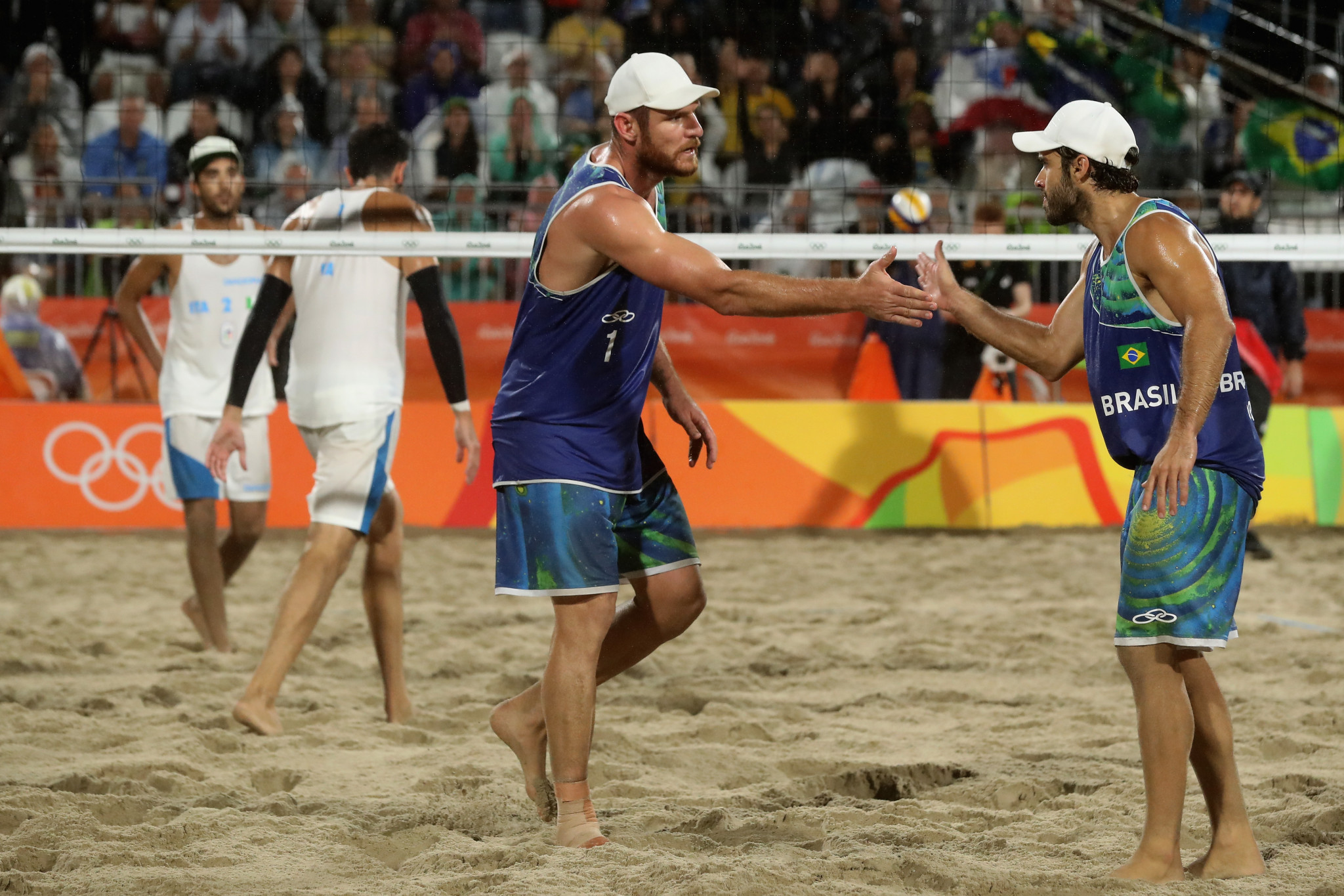Beach volleyball was named as the sport with the best production at Rio 2016 ©Getty Images