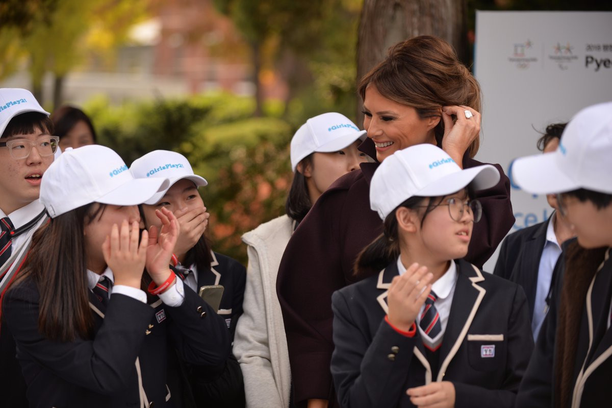 An event to help promote Pyeongchang 2018 was attended by United States First Lady Melania Trump ©Twitter