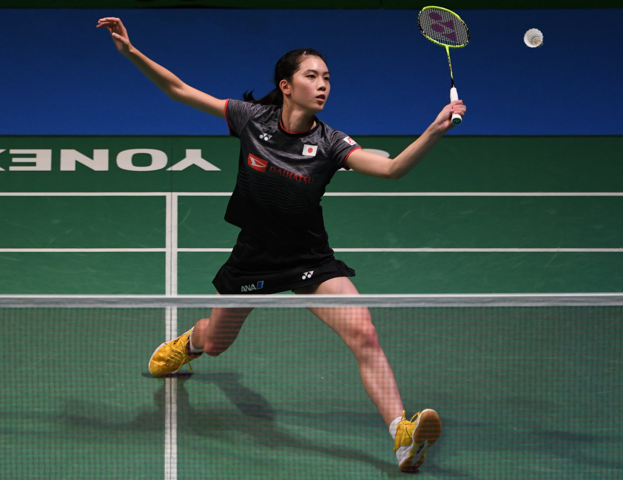Top seed Aya Ohori safely progressed to the second round of the women's singles event in Macau ©Getty Images