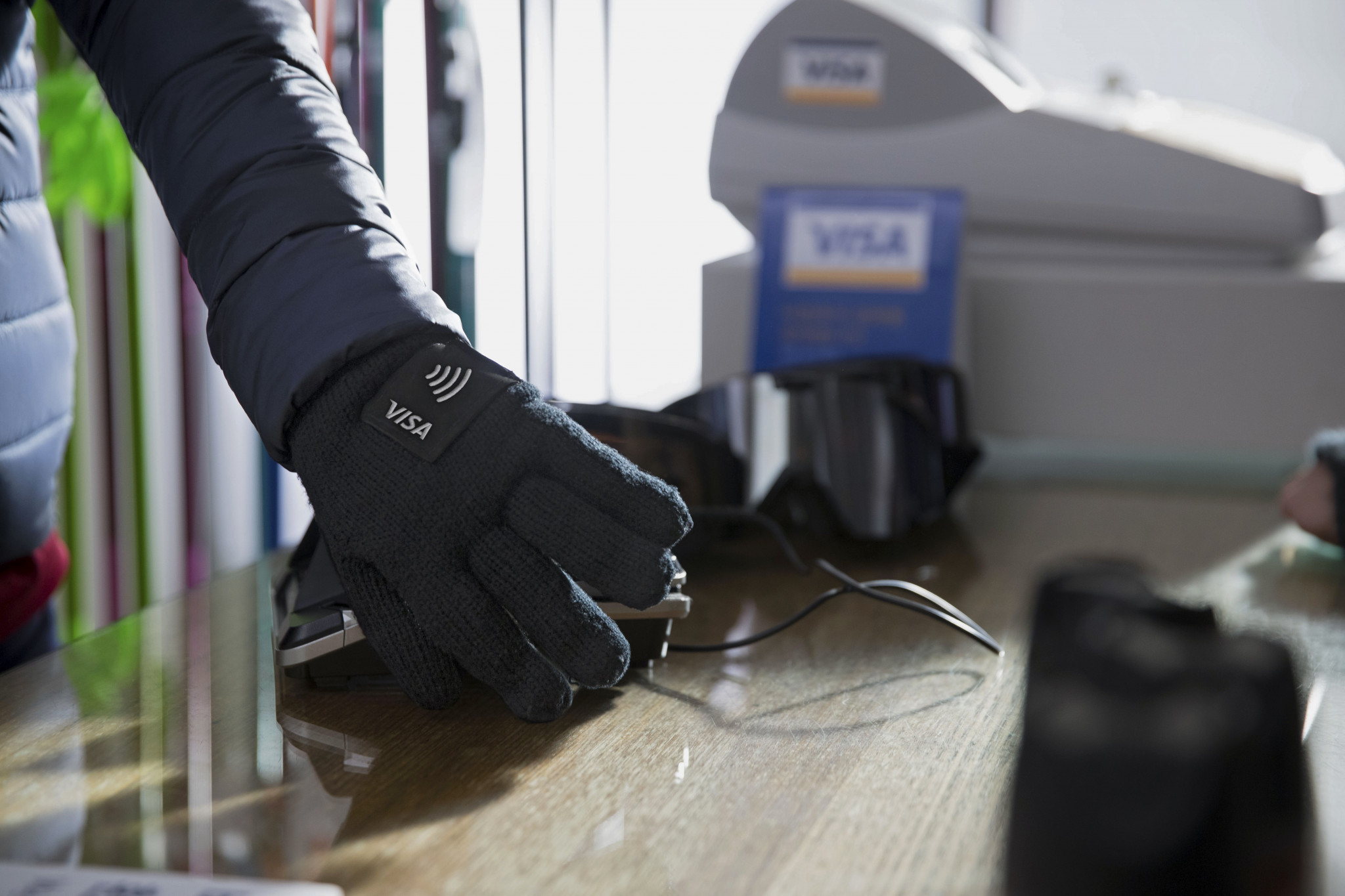 Visa introduces new payment mittens for Pyeongchang 2018 spectators