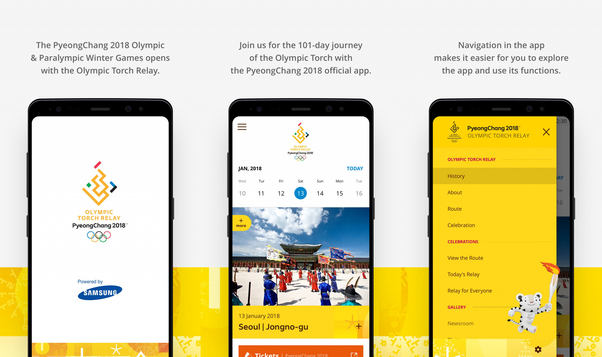 Pyeongchang 2018 launches official app