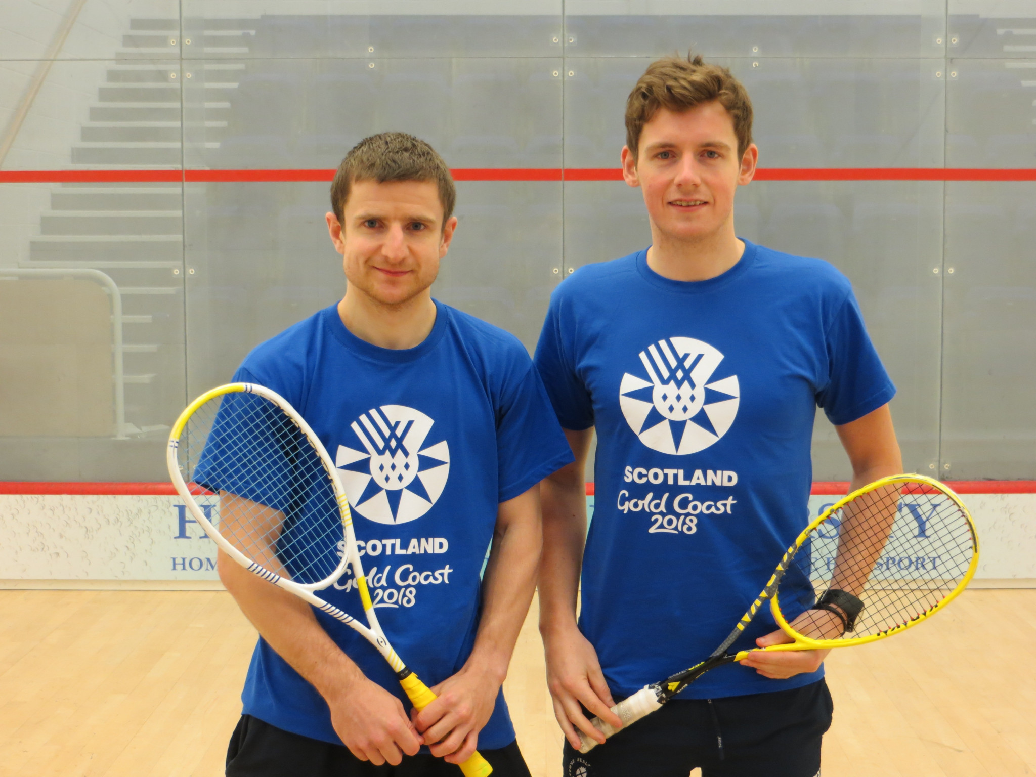 Squash players Clyne and Lobban selected to compete for Scotland at Gold Coast 2018