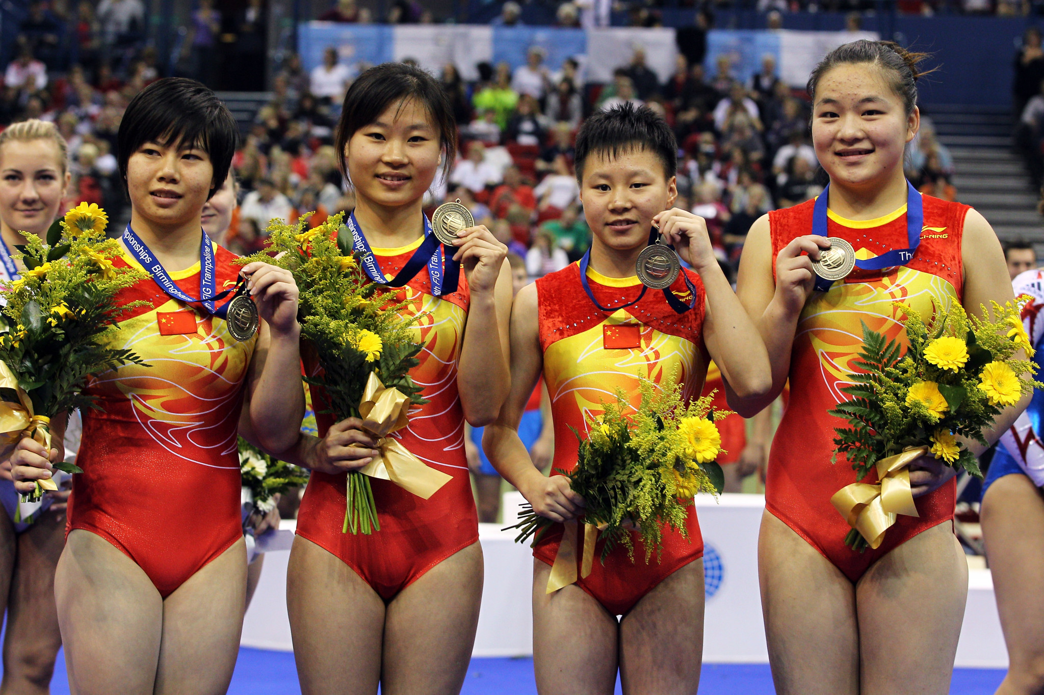 China will be hoping to dominate the women's event ©Getty Images