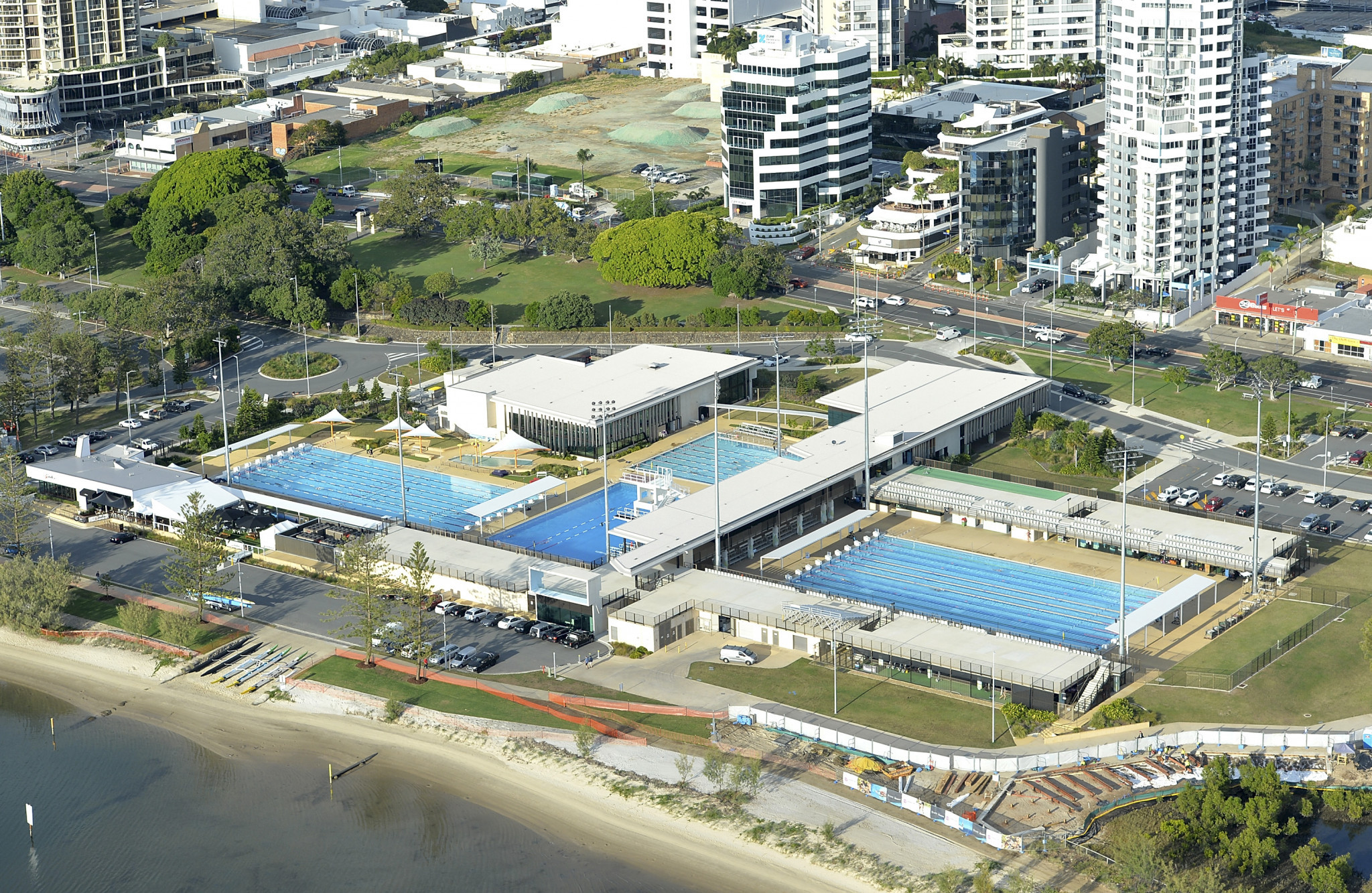 The competition will take place at the Gold Coast Aquatic Centre ©Getty Images