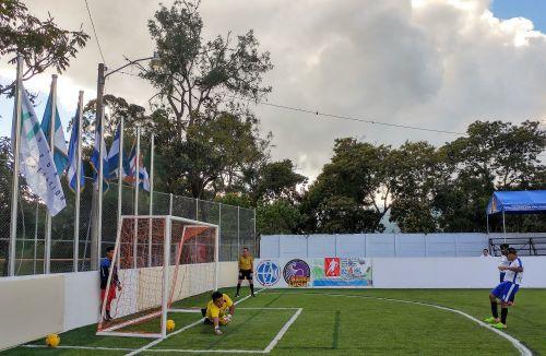 Nicaragua lost 2-1 to El Salvador, despite taking the lead ©IBSA