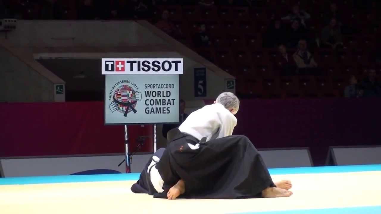 The World Combat Games were last held in Saint Petersburg in 2013 ©YouTube