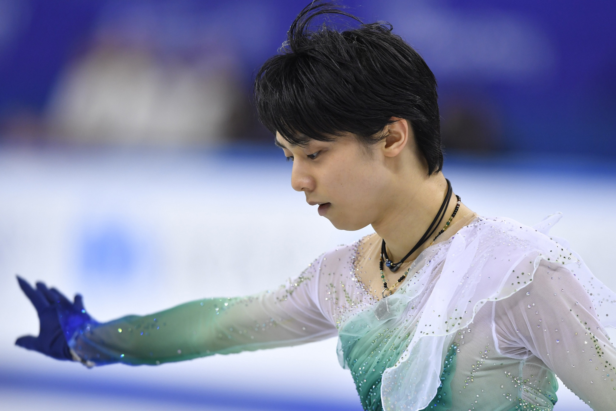 Yuzuru Hanyu was named the Most Valuable Skater at the first ever ISU Awards ©Getty Images