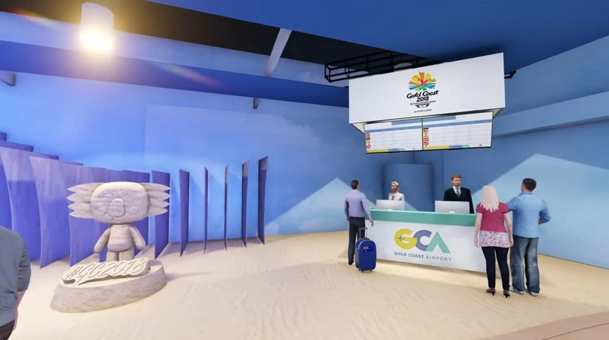 Gold Coast Airport to offer private lounge for Commonwealth Games athletes