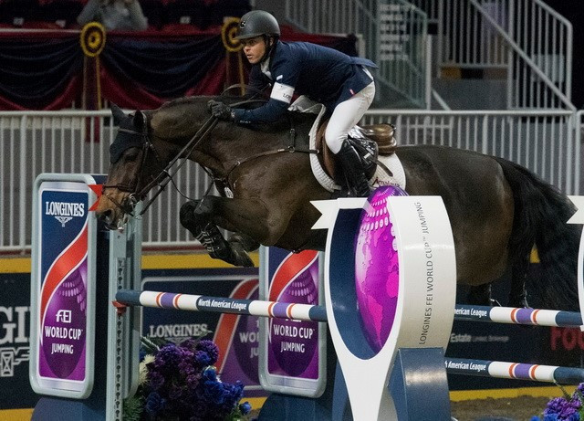 Farrington triumphs at FEI World Cup Jumping North American League event in Toronto
