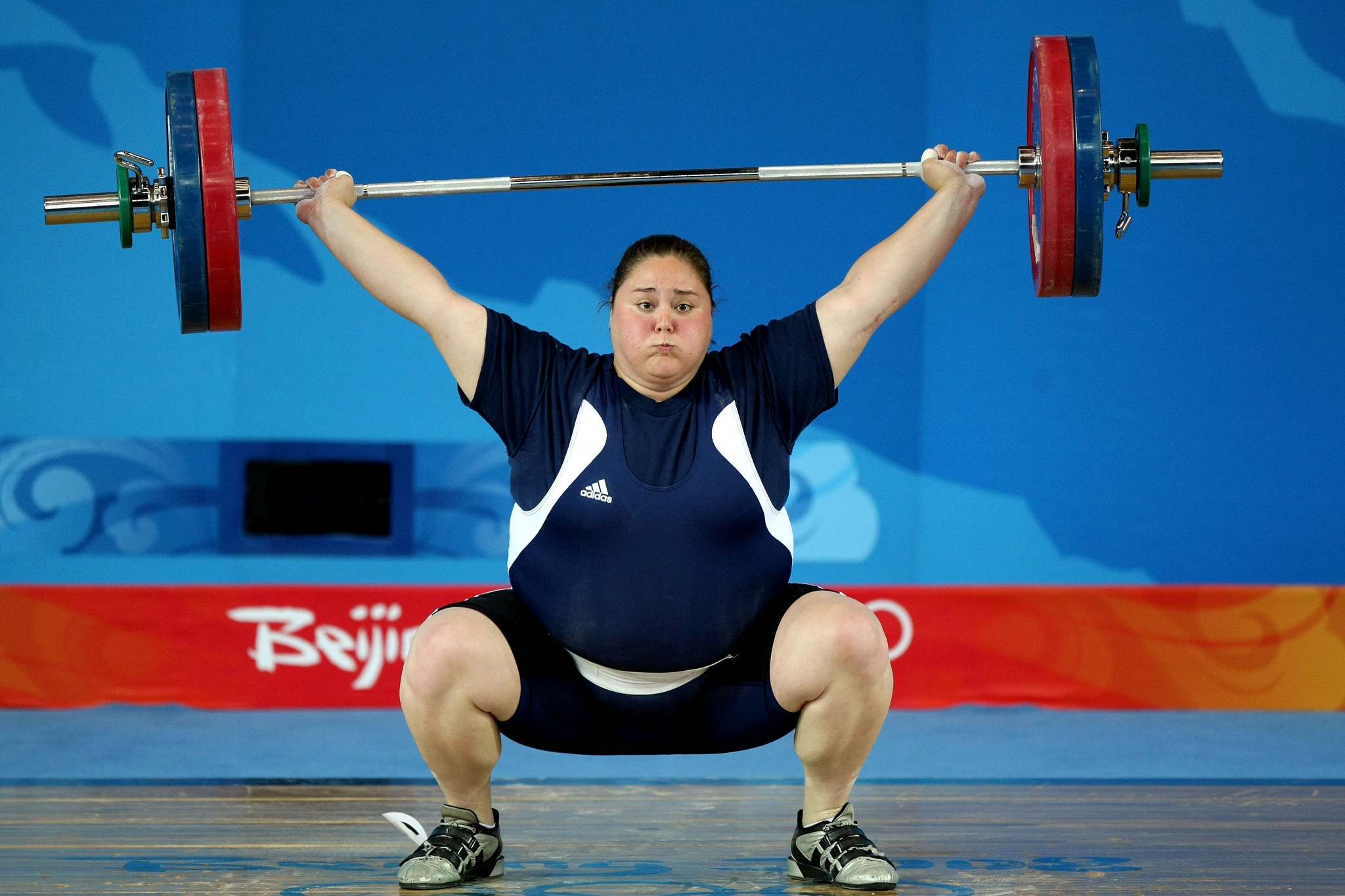 The last female medallist was Cheryl Haworth, who won super-heavyweight bronze in 2005 ©Getty Images