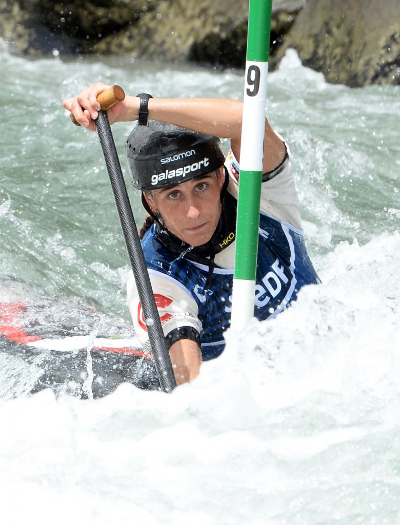 Spain's Nuria Vilarrubla came out on top in the C1W final