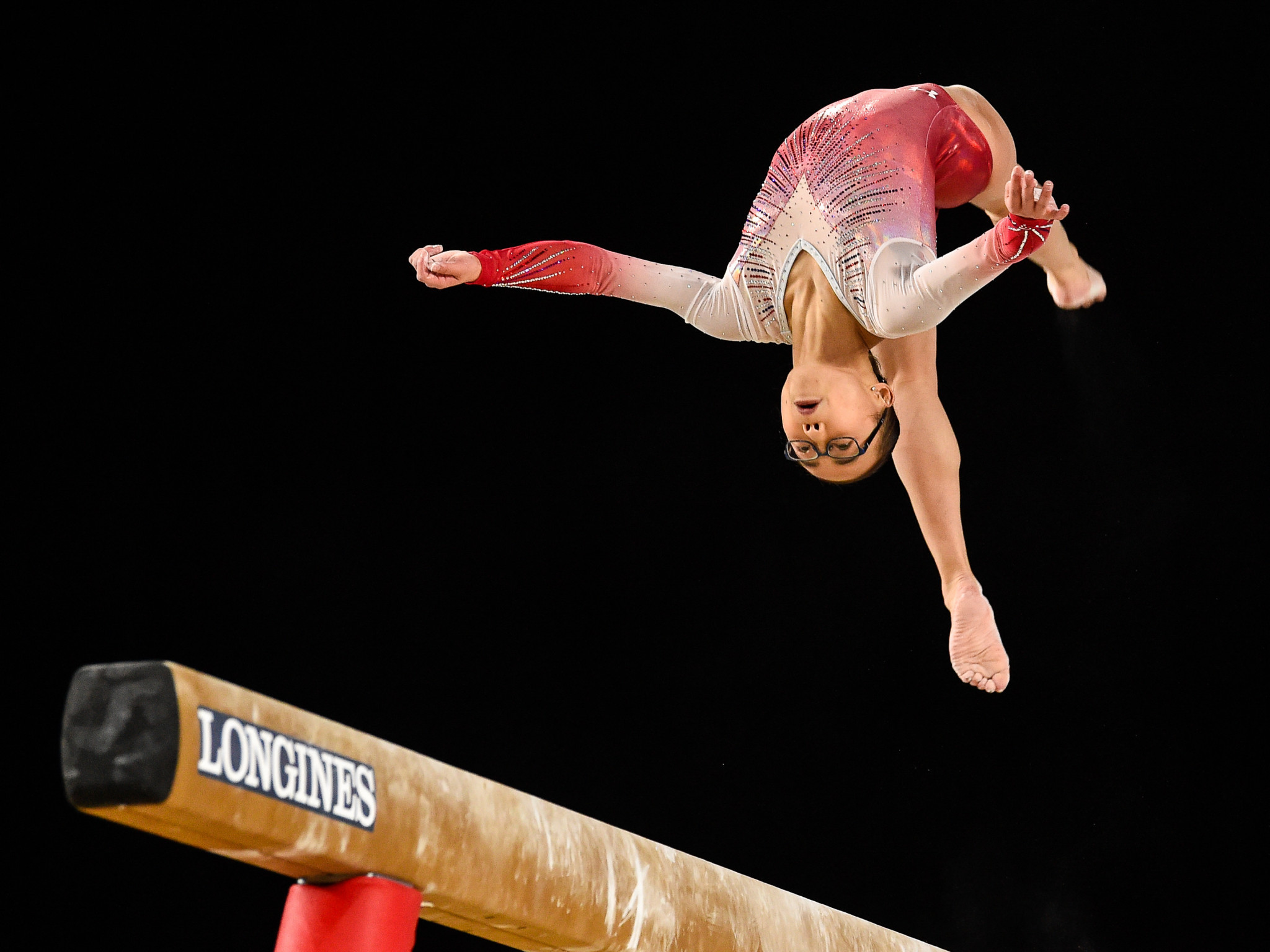 Gymnast Hurd among USOC Best of October award winners