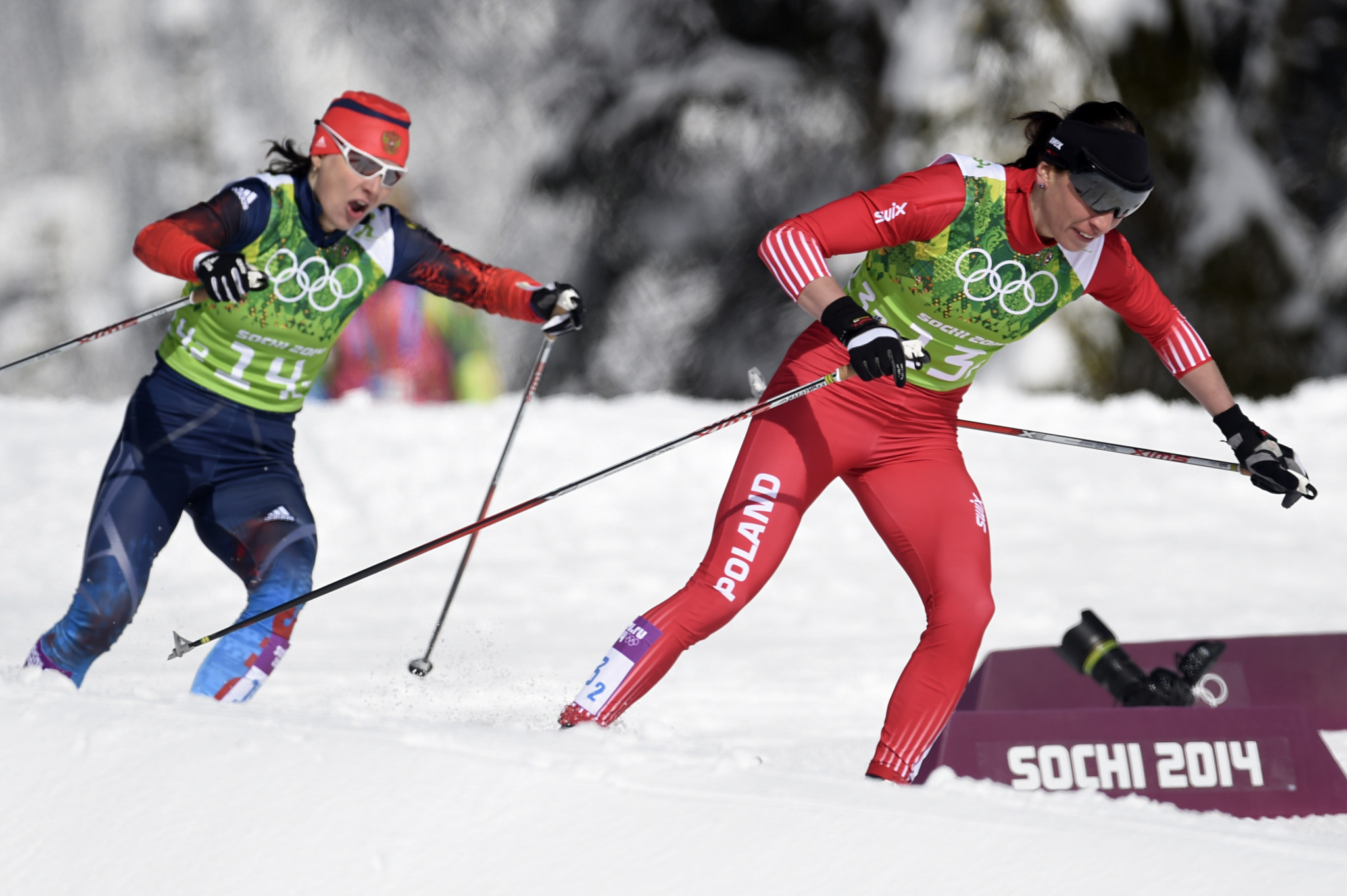 Four Russian skiers get life ban from Olympics over alleged doping use