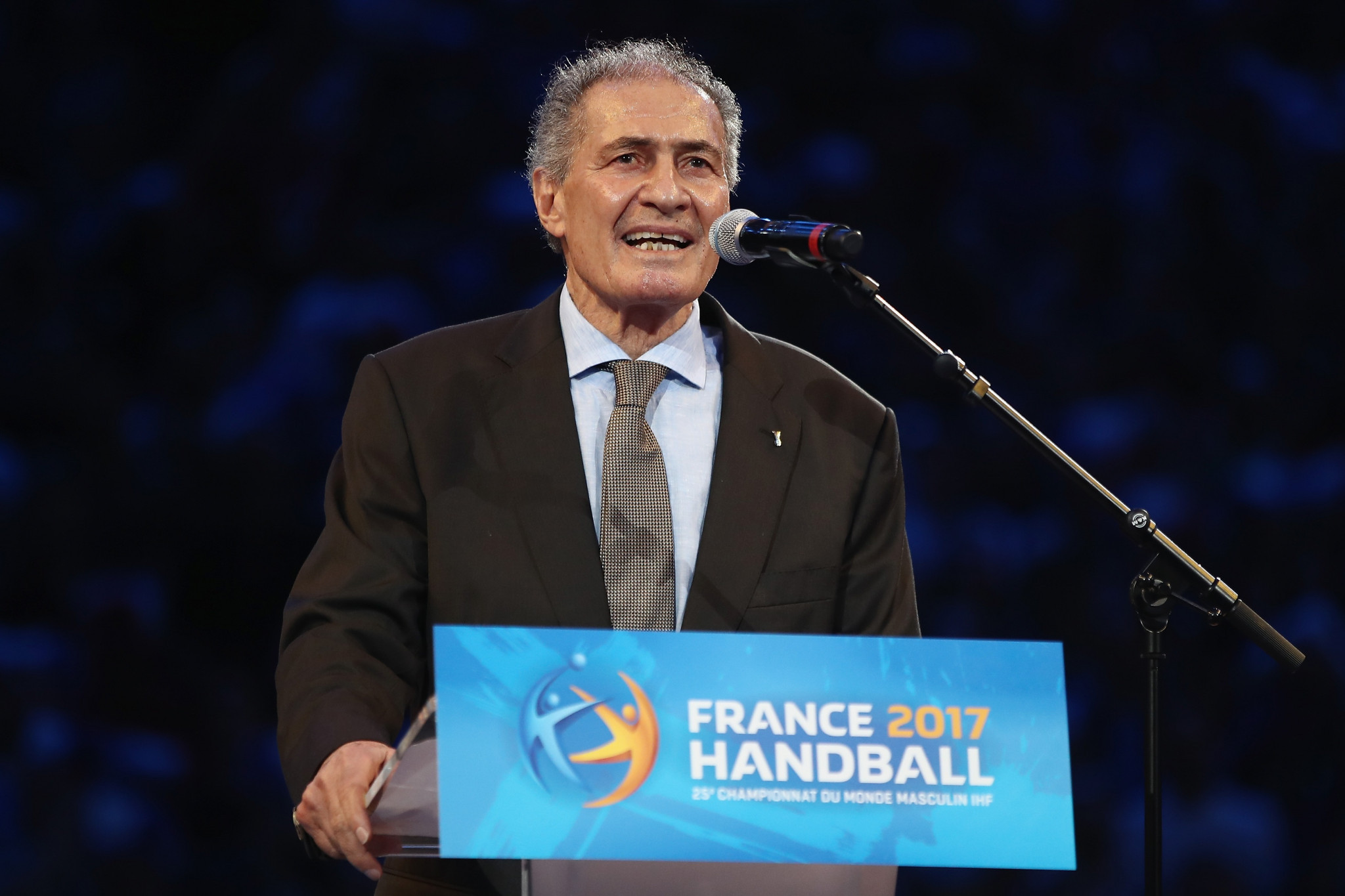 Hassan Moustafa is set to be re-elected unopposed as President of the International Handball Federation ©Getty Images