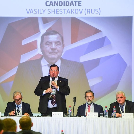 Shestakov vows to achieve sambo's dream of IOC recognition after being re-elected FIAS President
