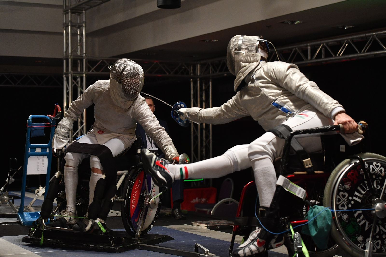 Shaburov claims second gold medal at IWAS Wheelchair Fencing World Championships