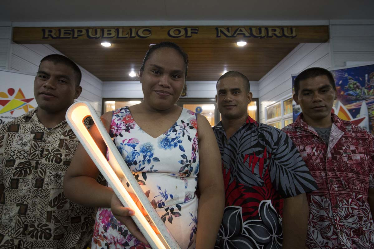 Nauru and Kiribati hold celebrations during Gold Coast 2018 Queen's Baton Relay visit