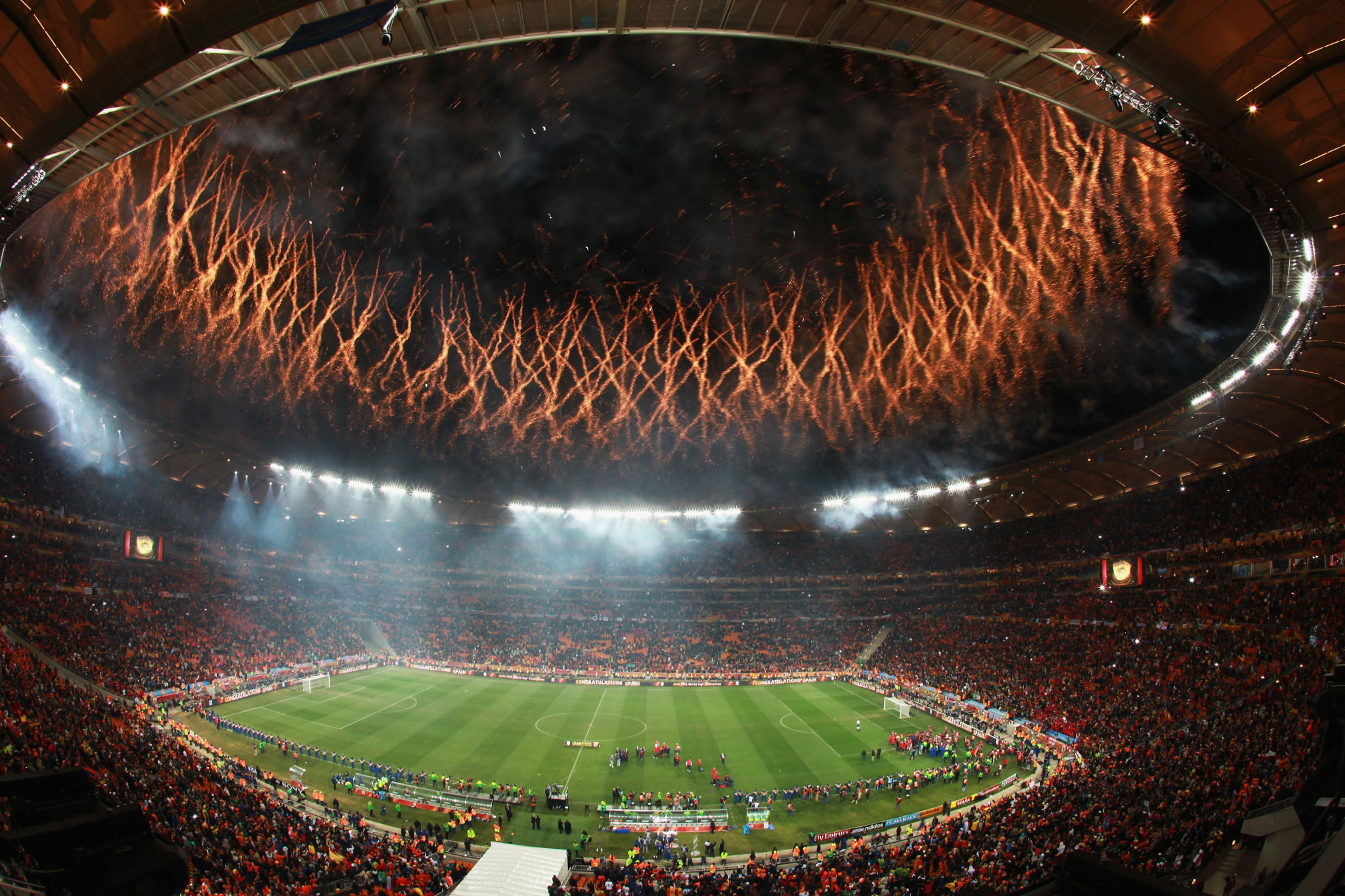 Thulas Nxesi has compared the bidding process to the FIFA World Cup of 2010, held in South Africa ©Getty Images